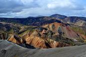 duhové hory v okolí Ladmanalaugaru